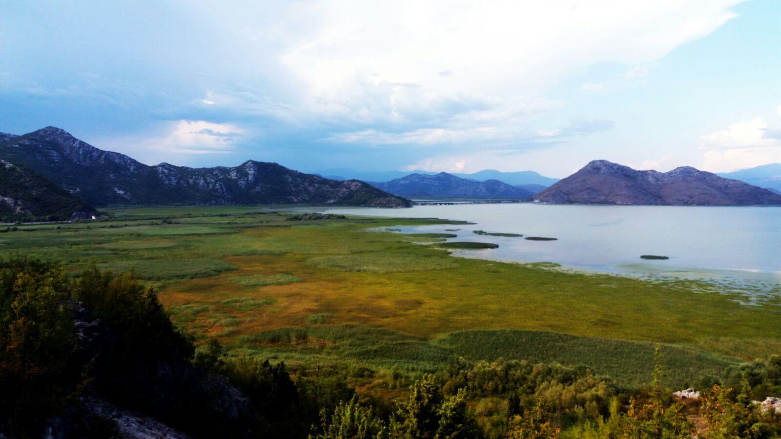 Jezioro Szkoderskie jest największym na całych Bałkanach.