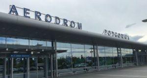 Lotnisko Podgorica w stolicy Czarnogóry.