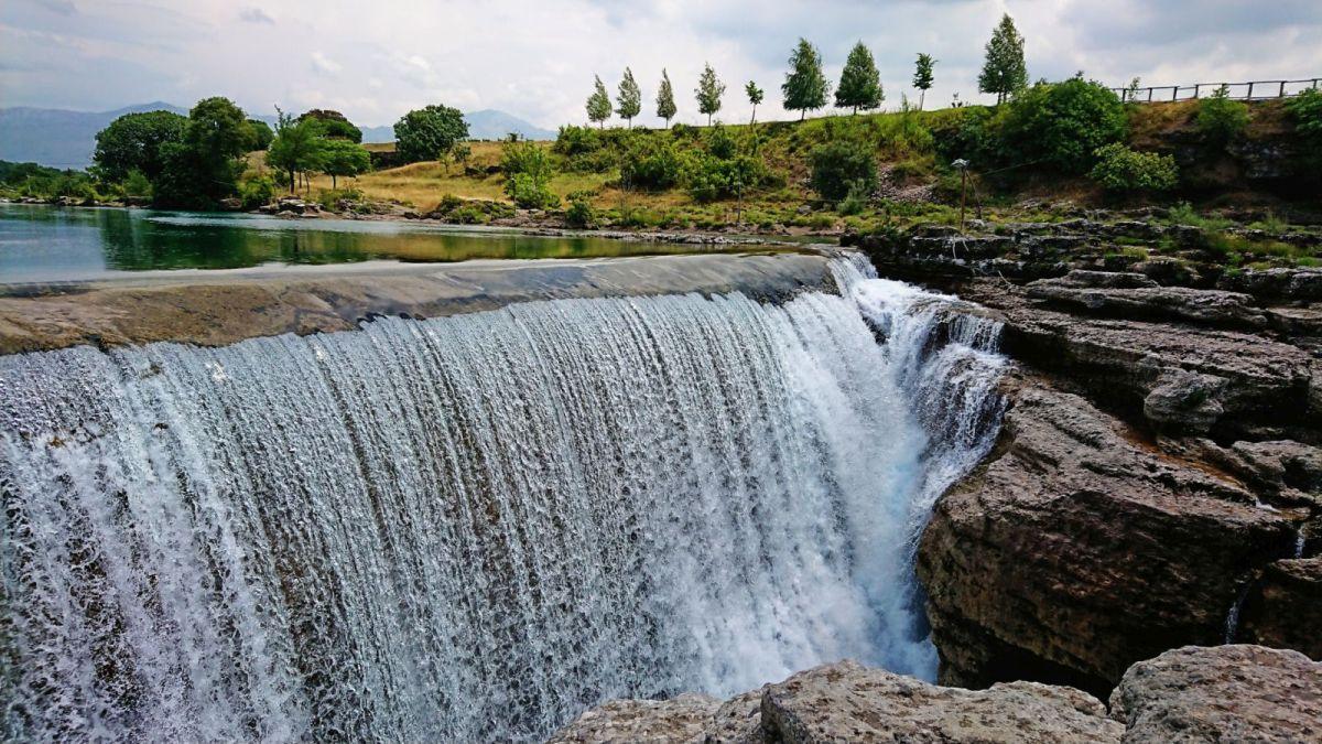 Wodospad Niagara w Czarnogórze.