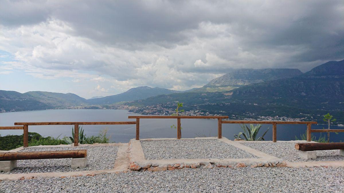 Punkt widokowy na Herceg Novi.
