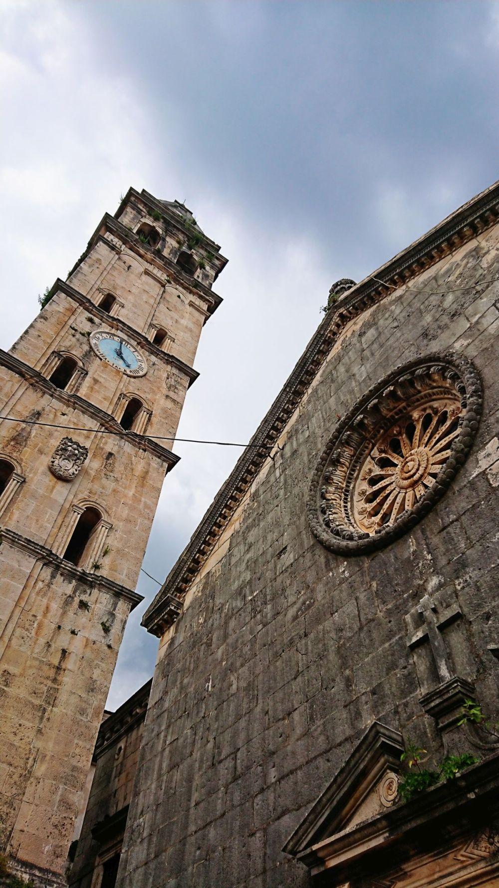 Katedra w miejscowości Perast.