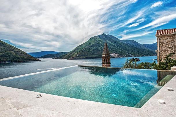 Hotel Monte Bay w Perast.