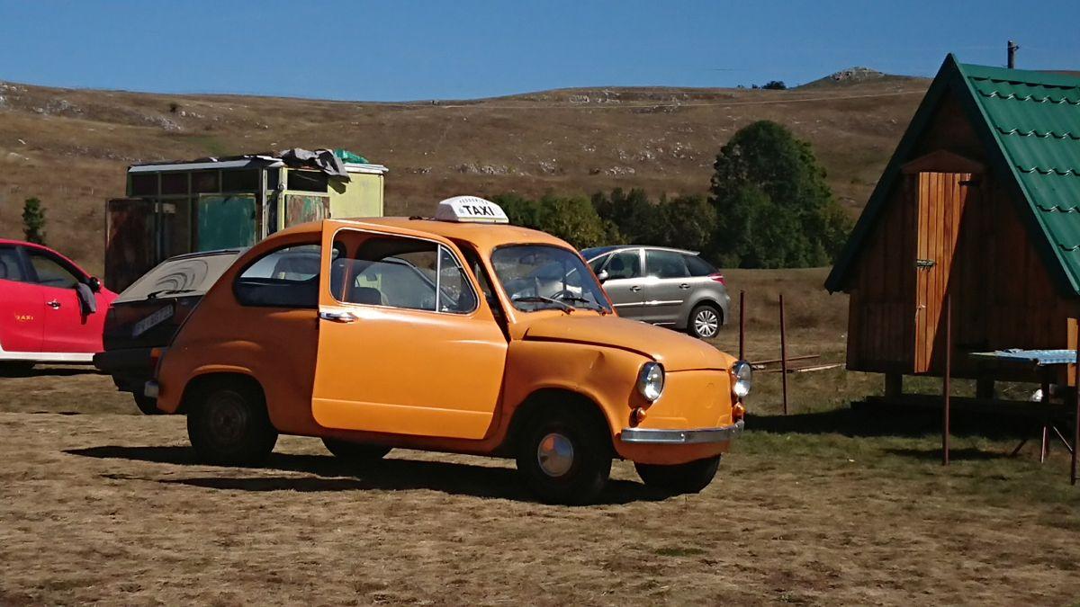 Dla taksówek nie ma przeszkód w Czarnogórze ;)