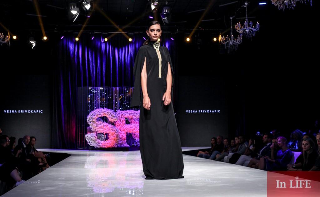 Pokaz mody czarnogórskiej projektantki Vesny Krivokapic