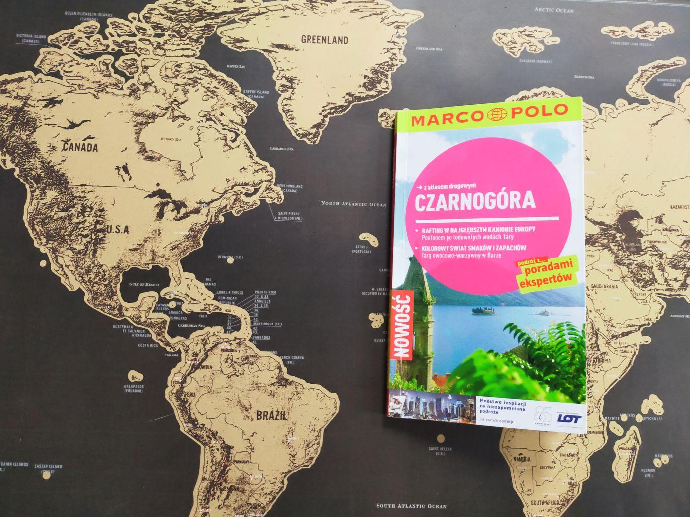 Przewodnik po Czarnogórze, wydawnictwo Marco Polo