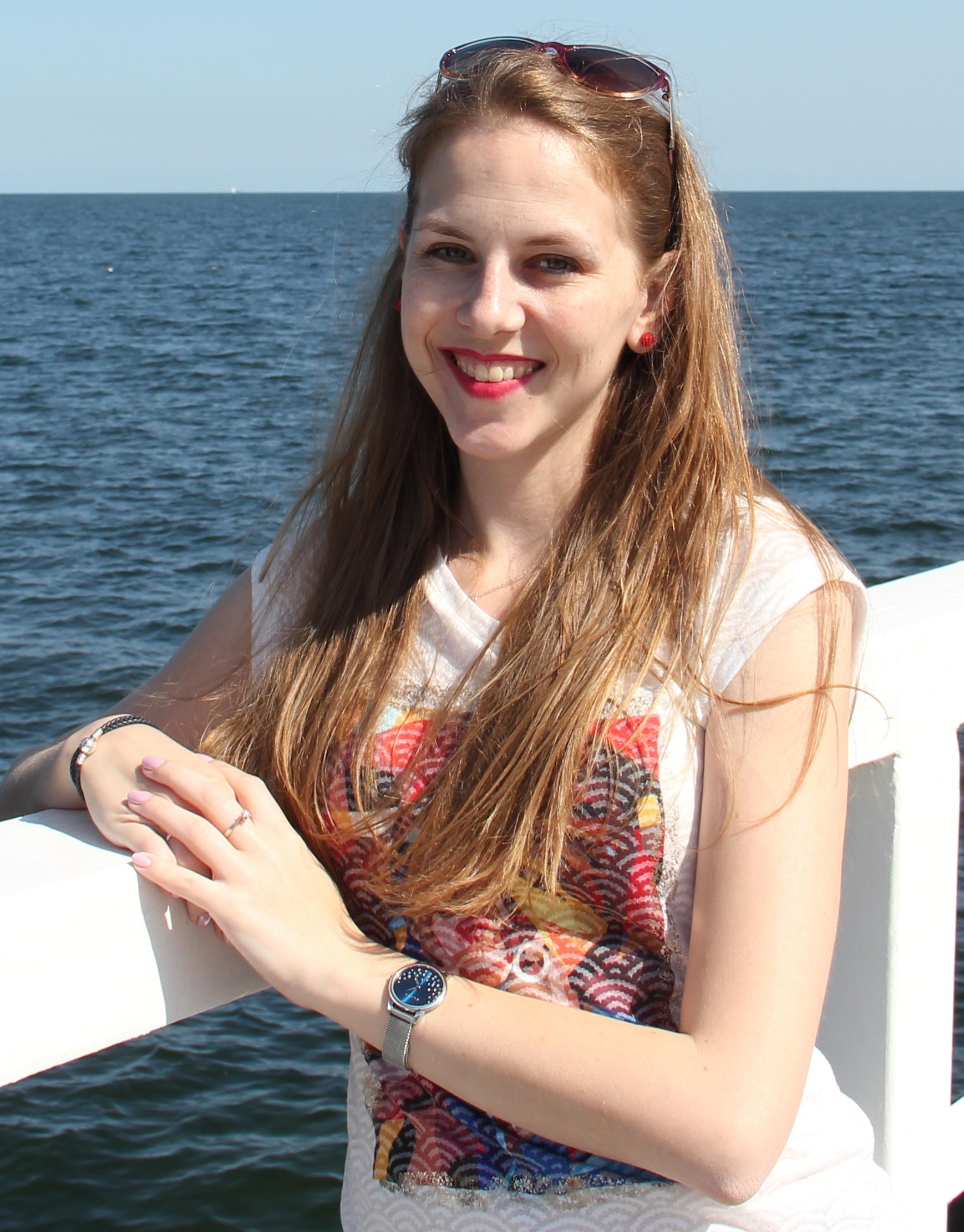 Natalia Styrna, redaktorka działu literatury na blogu.