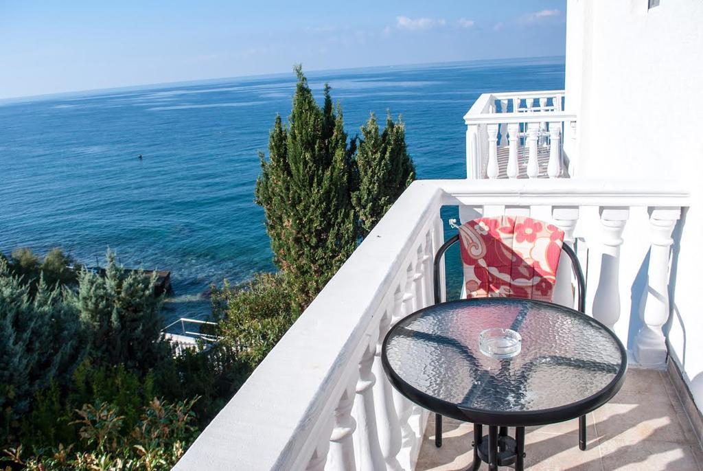 Widok z balkonu w Saga Del Mare.