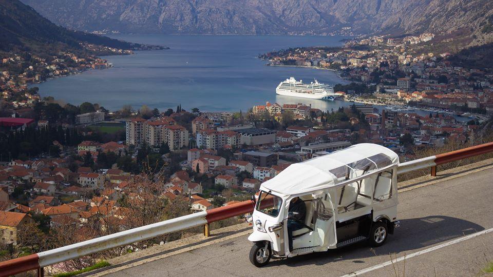 Słynne TukTuki od niedawna są w Czarnogórze.