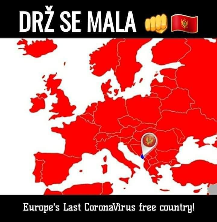 Czarnogóra długo była zieloną wyspą nie skażoną koronawirusem.