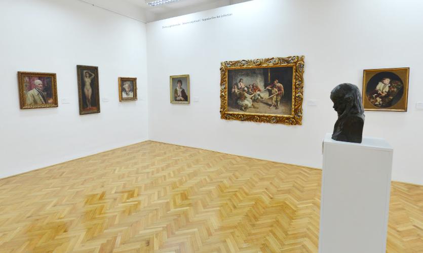 Muzeum sztuki w Cetinje.
