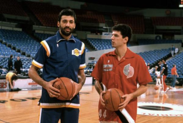 Gwiazdy złotej ery koszykówki w Jugosławii.