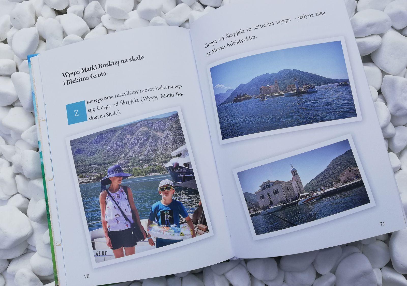 Bohater książki Tadek był na wakacjach w Czarnogórze.