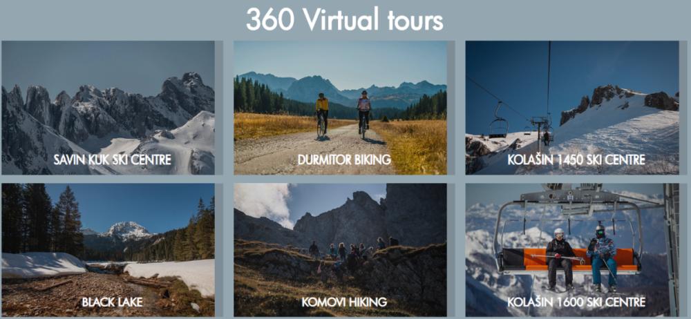 Zwiedzania wirtualne Czarnogóry