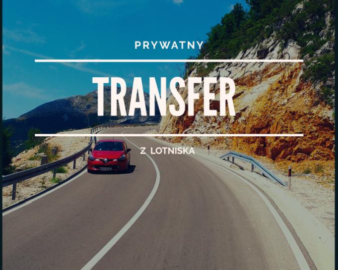 Prywatny transfer z lotniska Podgorica.