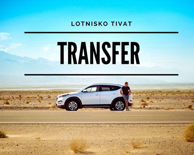 Prywatny transfer z lotniska Tivat.