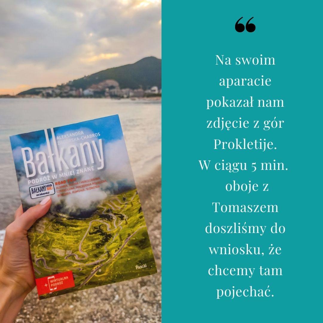 Książka dotarła w tym roku do Czarnogóry!