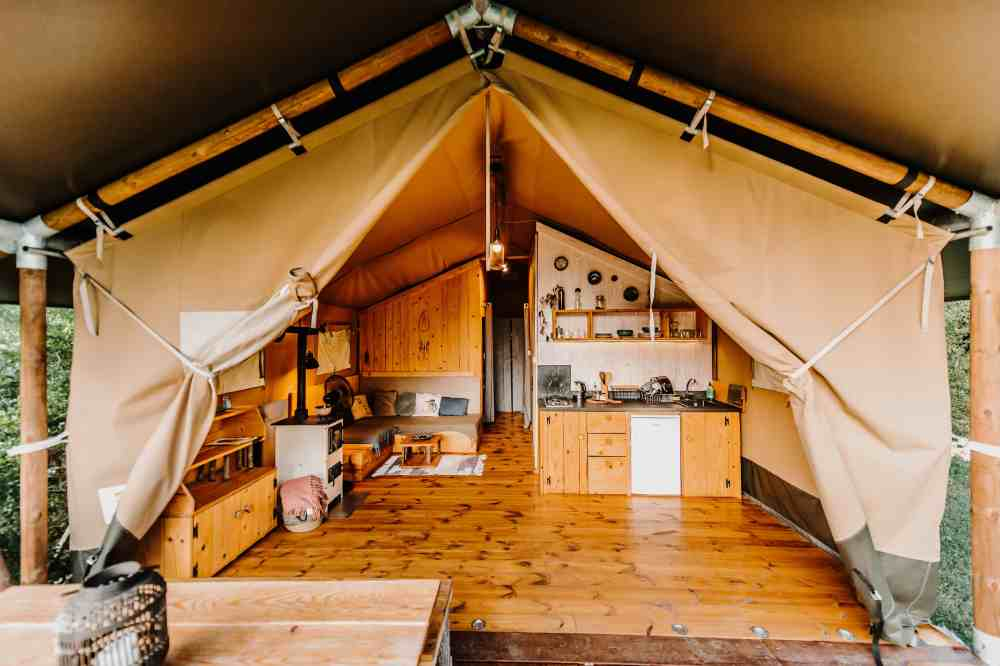 Największy namiot Mulberry Safari.