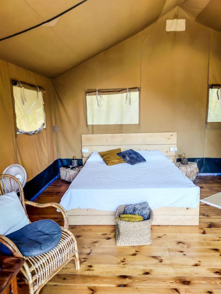 Namiot Oak jest idealny dla dwóch osób.
