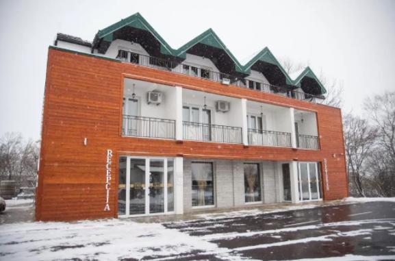 Hotel w górach Czarnogóry.
