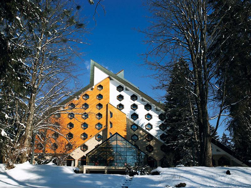 Hotel Bianca w górach Czarnogóry.
