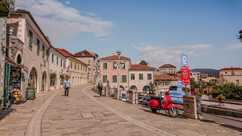 Starówka Herceg Novi.