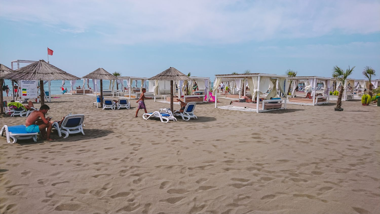 Velika Plaža w Ulcinj.