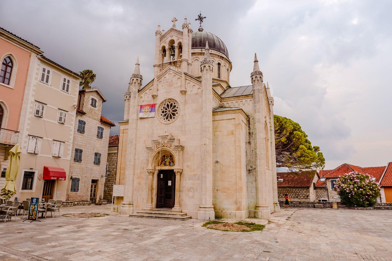Cerkiew św. Michała Archanioła w Herceg Novi.