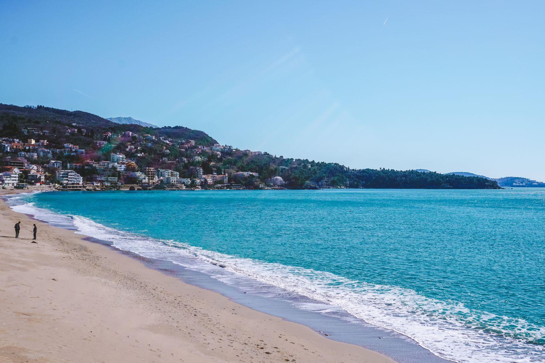 Plaża w Sutomore.