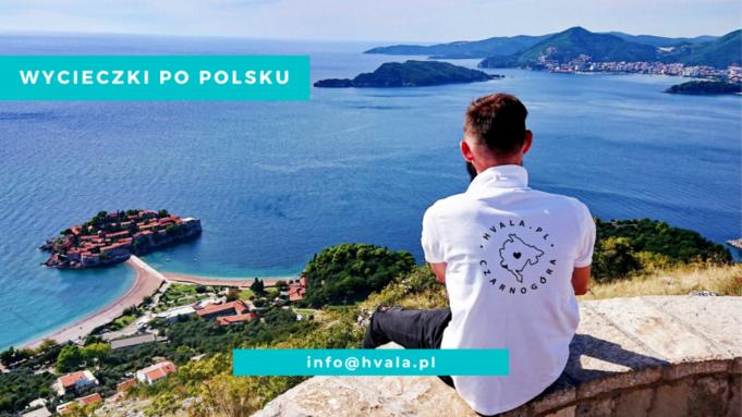 Wycieczki po polsku w Czarnogórze.