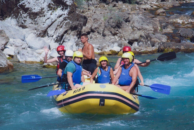 Natalii zdjęcie z raftingu