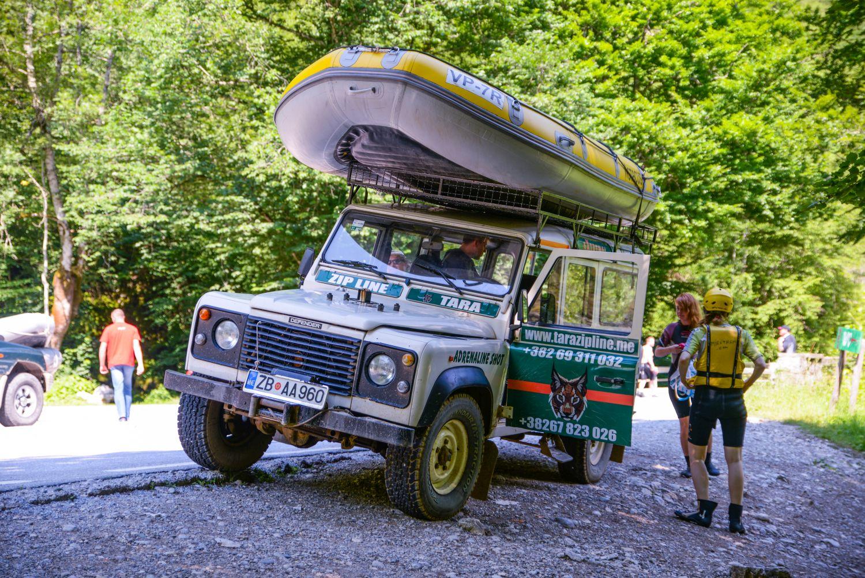 Rafting połączony z jeepami? Tak!