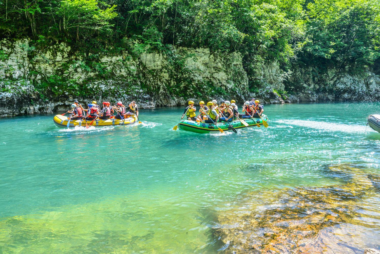 Rafting w Czarnogórze to jedna z topowych atrakcji